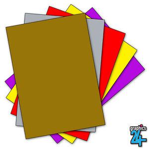 10 x a4 sheets matt self adhesive vinyl craft crafting ebay for Vinyl sheets for crafts