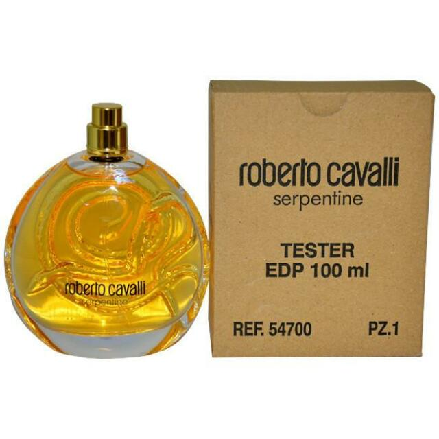Roberto Cavalli Serpentine 3.4 3.3 oz / 100 ml EDP Eau De Parfum New No Cap Tst.
