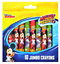 Pack-Of-10-Jumbo-Crayons-Colouring-Licensed-Princess-Cars-Frozen-Mickey-Mouse miniatura 7