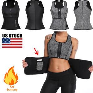 Women-Waist-Trainer-Vest-Tank-Workout-Neoprene-Sauna-Sweat-Belt-Body-Shaper-Tops