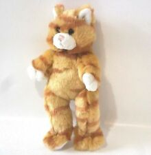 "Build A Bear Workshop Mini Tabby Cat Plush Soft Toy 7"" Tall Retired Collectable"