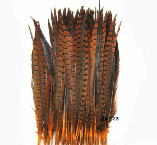 Wholesale,10-100Pcs beautiful pheasant tail feathers 30-35 cm 12-14 inches
