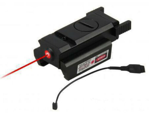 Tactical Red Laser sight fit Glock17 19 20 21 22 31 34 35 37 38 w//remote switch