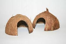 Pollywog Coconut Hut ~ Arched Hole ~ Den Hide Cave Coco Half ~ Shrimp Frog Newt