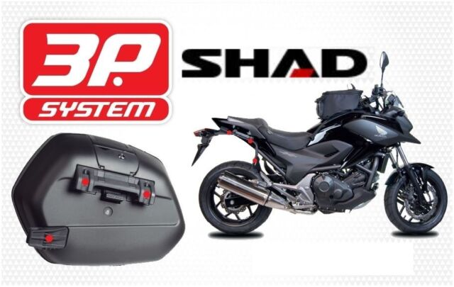 Shad 3p Side Case Fitting Kit Yamaha Mt09 Tracer For Sale