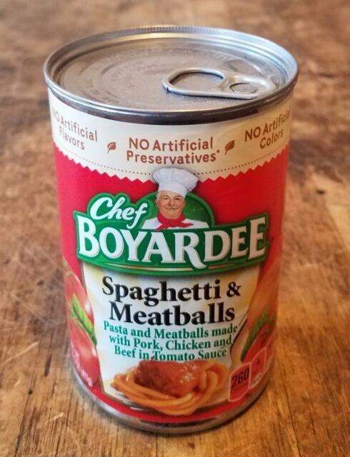 Diversion Can Stash Secret Safe Chef Boyardee Spaghetti & MB 15 oz Magnetic