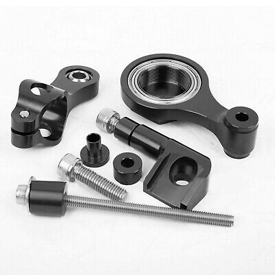 CNC Steering Damper Stabilizer Mounting Brackets Kit For Yamaha YZF R6 2006-2015