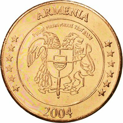 Essai 2 Cents 63 Copper Medal #434556 2004 Armenia Ms Diligent