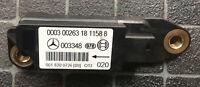 MERCEDES CLK KOMP 208 2.3 2000 Airbag Crash Sensor 0018200726 A0018200726