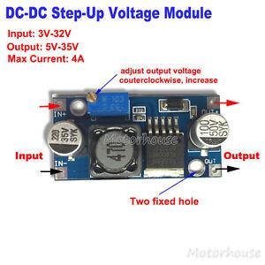 Dc Dc 4a Boost Converter 3v 32v 12v To 5v 35v 24v Step Up