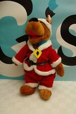 "Scooby Doo Plush 15"" Santa Holiday"