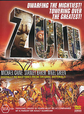 ZULU - MICHAEL CAINE-  -  NEW & SEALED DVD
