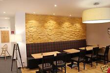10 m² Spaltholz Riehmchen Wandverkleidung Verblender Holzfliese  Klinker Holz