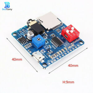 MP3-Player-Voice-Playback-Module-I-O-Trigger-UART-Control-SD-TF-Card-For-Arduino