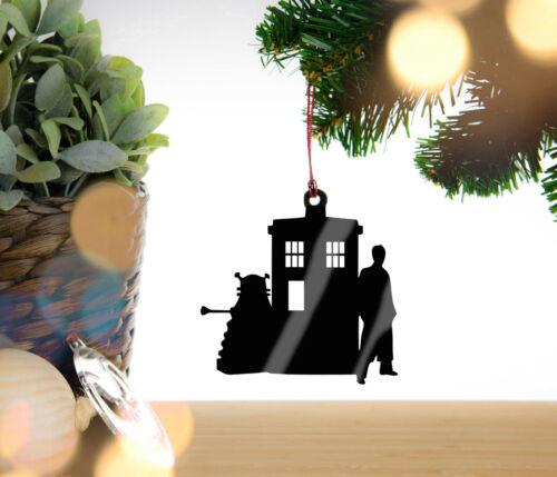 Ornement Doctor Who TARDIS Dalek-Arbre De Noël Babiole Décoration