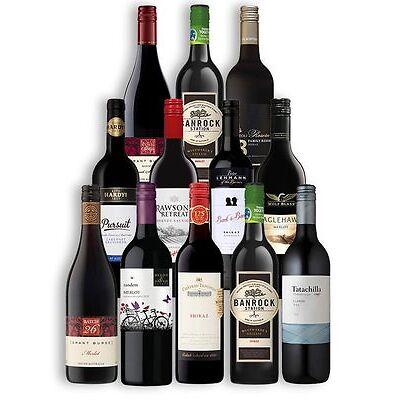 Top Brands Red Wine (12 Bottles)