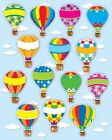 Hot Air Balloons Shape Stickers 9781609960667 Cards