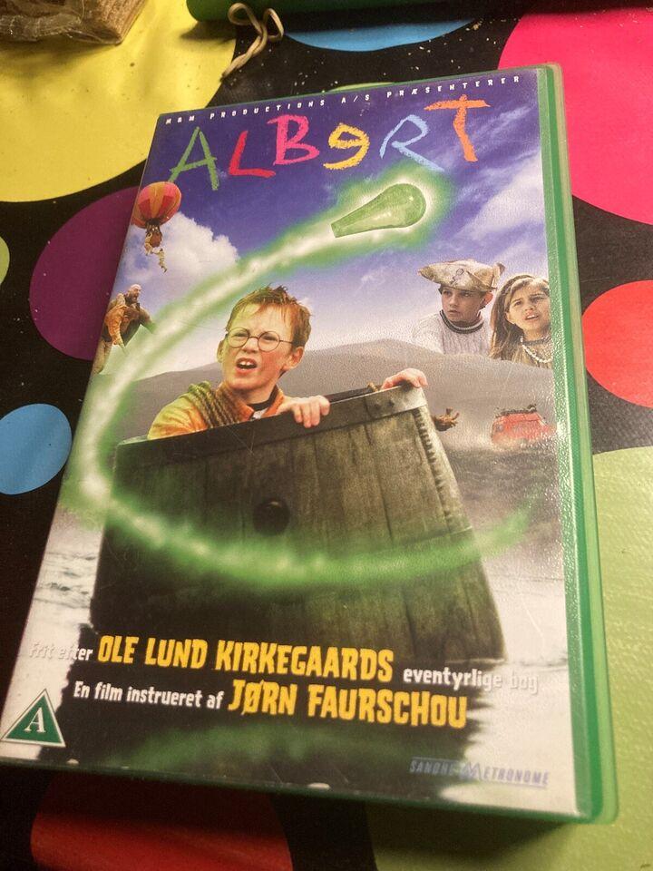 Børnefilm, Albert, instruktør Jørn faurschou