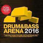 Drum & Bass Arena 2016 (3CD+MP3) von Various Artists (2016)