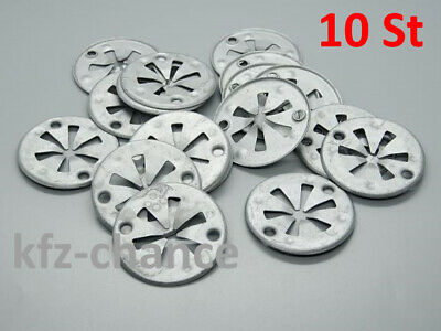 20 piezas bajo protección de conducción del calor protección chapa klemmscheibe clips para audi ford Skoda