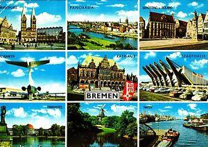 Bremen-Ansichtskarte-1972-gelaufen