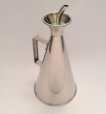 0.5l non drip olive oil can dispenser drizzler pourer stainless steel