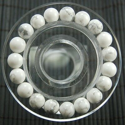 "8mm Nature Natural Stone Gemstone Round Bead Stretchy Bracelet 7""/7.5""/8""/8.5"""