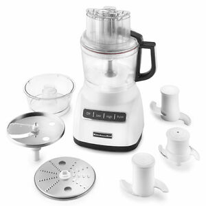 Kitchenaid 9 Cup 2 1l Wide Mouth Food Processor White