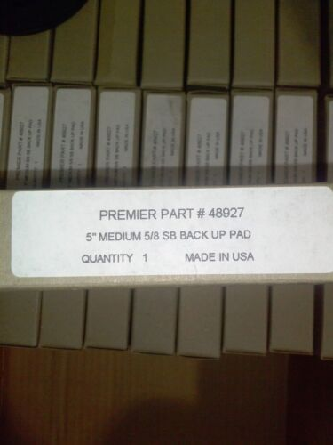 "LW0055-1 Premier 5/"" x 5//8/"" Fiber Disc Back-Up Pad"