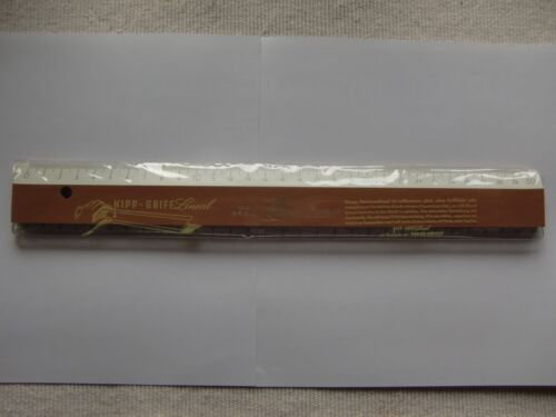 D.B.G.M Faber Castell Holz Lineal Kipp-Griff Lineal 1643 Germany