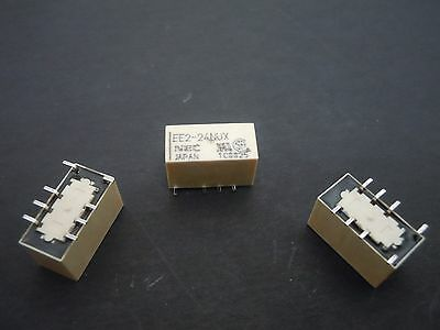 15Pcs RELAY 24V DPDT 2A DPDT RELAY SMD SMALL FOOTPRINT