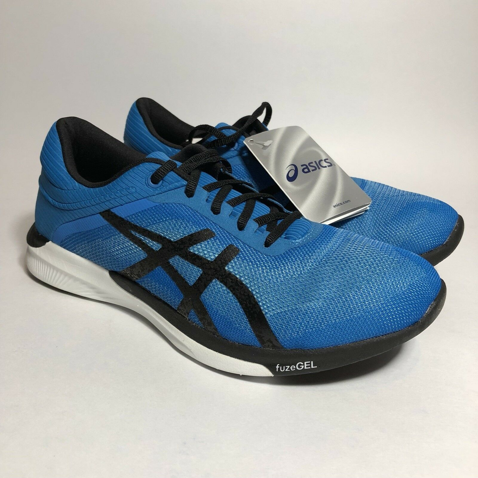 Asics Fuzex T718N6790 Rush Mens Running Shoes T718N6790 Fuzex 6 Aqua Splash Black Diva Blue 106bdd