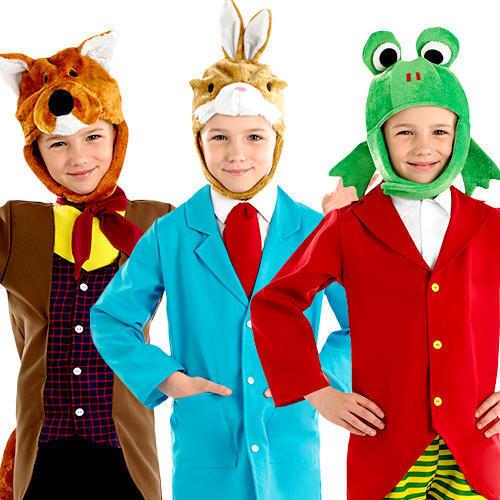 Mr Animal Boys Fancy Dress Story Character World Book Day Kids Childrens Costume