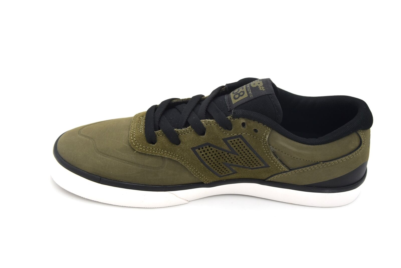 NEW BALANCE MAN FREE TIME CASUAL SNEAKER SHOES LEATHER CODE NM358SBG