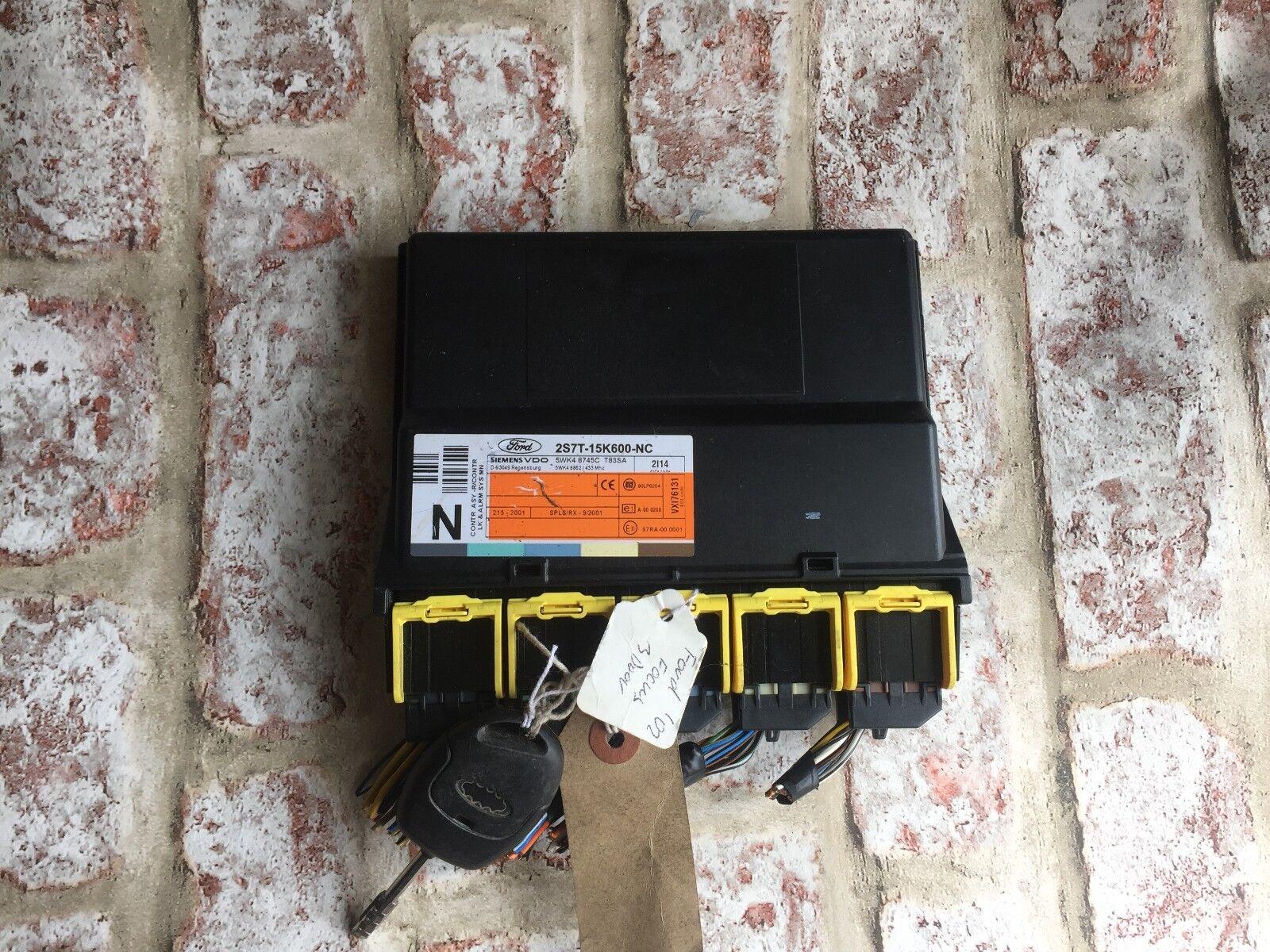Ford MONDEO Mk3 Central Alarm Locking Module ECU Control Unit 5wk48753f