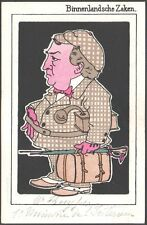 Pays-Bas. Kabinet-Kuyper. Série complète de 8 cartes. Vers 1902