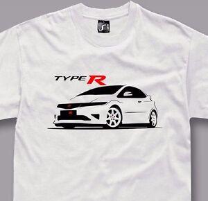 T Shirt For Honda Civic Type R Fans Fn2 Jdm Tshirt S 5xl Ebay