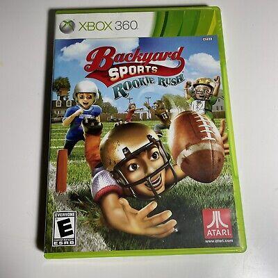 Backyard Sports Football: Rookie Rush Xbox 360 Kids Game ...