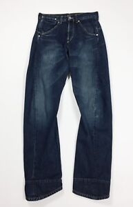 Levis-engineered-001-1651-jeans-usato-uomo-W28-L32-tg-42-relaxed-boyfriend-T4469