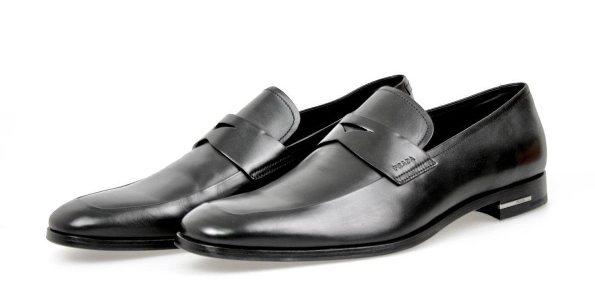 shoes PRADA LUXUEUX 2DB019 black NOUVEAUX 9,5 43,5 44