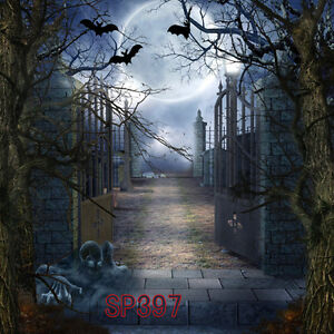 Halloween Thriller Terror 10x10 Ft Cp Photo Scenic
