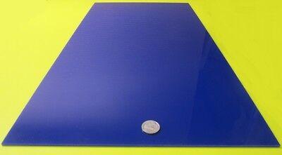 "1//8/"" 2051 Translucent Blue Cell Cast Acrylic Sheet  24/"" x 24/"""