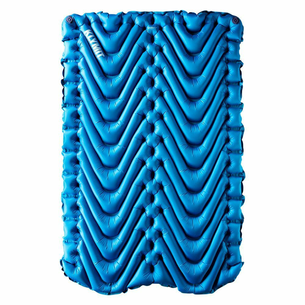 Klymit Double  V Lightweight Sleeping Pad for Two (bluee)  simple and generous design