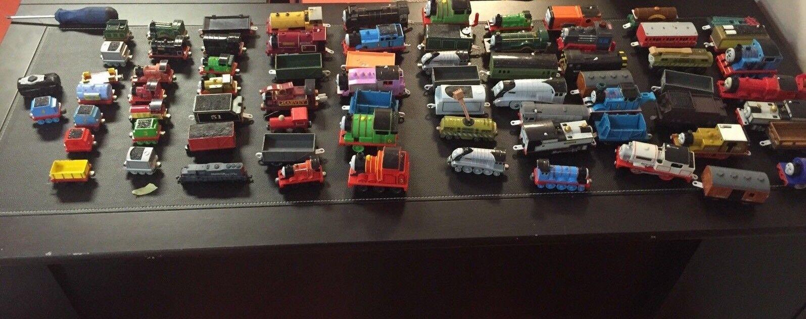 Enorme Thomas The Train Cars lotes de 71 piezas