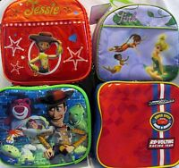 Disney Lunch Boxes Box Tote - Tinker Bell, Cars, Toy Story Buzz Jessie