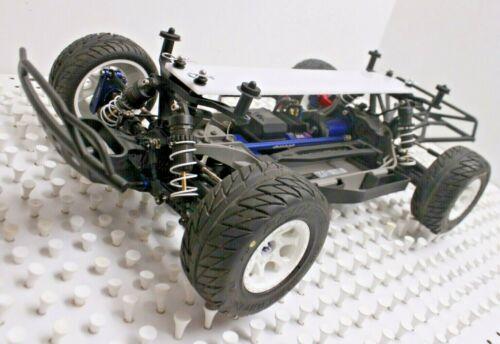 MPHRC Upper Chassis Brace Fits Traxxas Slash 4X4 Rally 4WD LCG /& MFG PIN PULL
