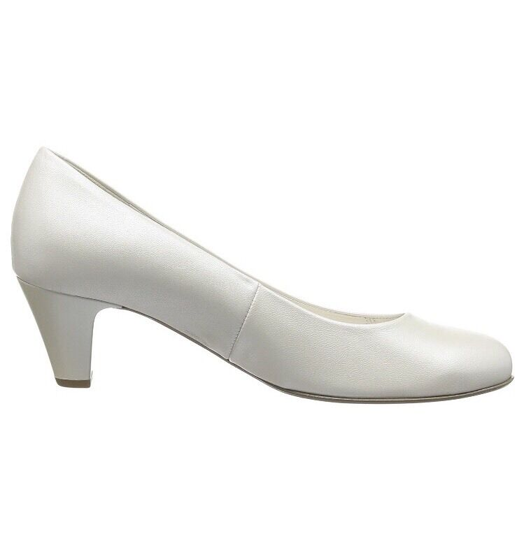 Gabor Vesta 2, Women's Women's Women's Closed-Toe Pumps, Off White Pearlised Leather 5 UK 38 EU c787a3