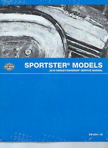 harley davidson 2016 sportster xl1200c service manual digital pdf p rh ebay ie