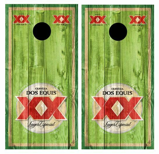 Dos Equis Cornhole  Board Wraps FREE SQUEEGEE  order now enjoy big discount