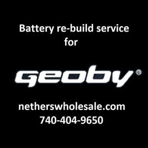 Rebuild service for  Geoby E-Bike 36 volt 9 A H Battery rebuilt to 10 A H  sale with high discount